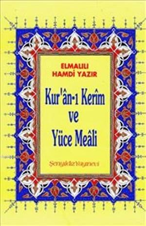 Kur'an-ı Kerim ve Yüce Meali Elmalılı M. Hamdi Yazır - Rahle Boy