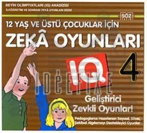 Okulöncesi Çocuklar İçin IQ Geliştirici Zeka Oyunları 4 - (4-7 Yaş)