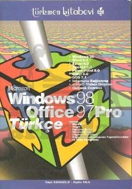 Windows 98 Office 97 Pro. Türkçe