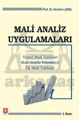 Mali Analiz Uygulamalari-5.Baski