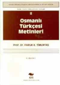 Osmanlı Türkçesi Metinler 2