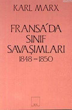 Fransa'da Sinif Savasimlari 1848- 1850