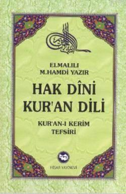 Hak Dini Kur'an Dili (10 Cilt Takım); Kur'an-I Kerim Tefsiri