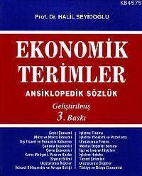 Ekonomik Terimler; Ansiklopedik Sözlük (gelistirilmis 3. Baski)