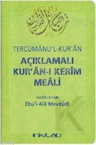 Açıklamalı Kurân-I Kerim Meali Tercümânu'l-Kurân (Cep Boy)