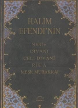 Halim Efendi'nin Meşk Murakka'ı