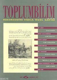 Toplumbilim; Sayı Nasreddin Hoca Özel Sayısı