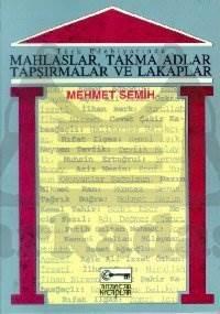 Türk Edebiyatında Mahlaslar Takma Adlar