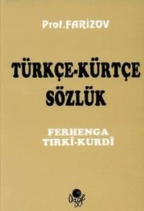 Türkçe - Kürtçe Sözlük