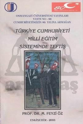 Türkiye Cumhuriyeti Milli Eğitim  Sisteminde Teftiş