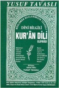 Dini Bilgili Kur'an Dili Elifbası