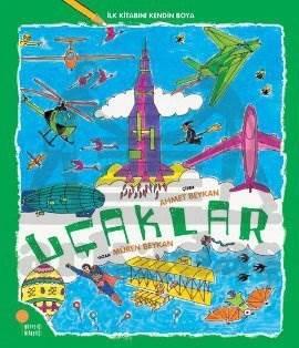 İlk Kitabını Kendin Boya - Uçaklar