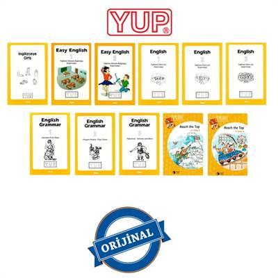 7+ Yaş YUP İngilizce Seti; 11 Kitap