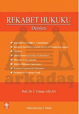 Rekabet Hukuku Dersleri-3.Baski