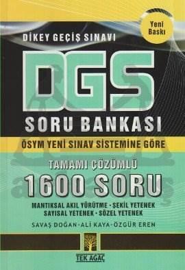 """DGS Soru Bankası """"Tamamı Çözümlü 1600 Soru"""""""