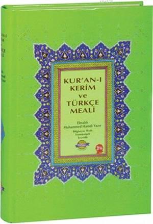 Kur'an-I Kerim Ve Türkçe Meali; Bilgisayar Hatlı - Cami Boy
