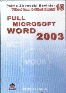 Full Microsoft Word 2003; Zirvedeki Beyinler 15