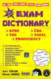 Exam Dictionary KPDS-ÜDS-YDS-TOEFL