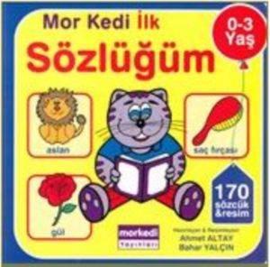 Mor Kedi İlk Sözlüğüm (0-3 Yaş)