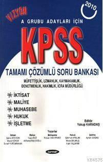 Kpss A Grubu Adaylari İçin Çözümlü Soru Bankasi