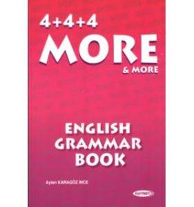 4+4+4 More&More English Grammar Book