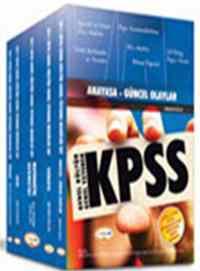 KPSS Genel Yetenek-Genel Kültür Modüler Set Konu Anlatımlı