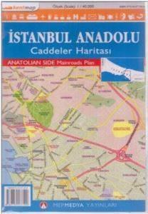 İstanbul Anadolu Caddeler Haritası