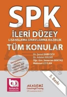 SPK Lisanslama Serisi:11 Tüm Konular-İleri Düzey