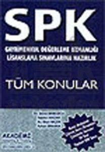 SPK Gayrimenkul Değerleme Uzmanlığı Lisanslama Sınavlarına Hazırlık Tüm Konular