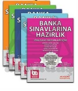 Banka Sınavlarına Hazırlık-Önlisans Mezunları İçin (Genel Kültür-Genel Yetenek Konu Anlatımlı) MODÜLER 5'Lİ SET