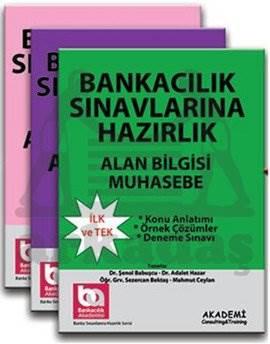 Banka Sınavlarına Hazırlık-Üniversite Mezunları İçin-Alan Bilgisi MODÜLER 3'LÜ SET