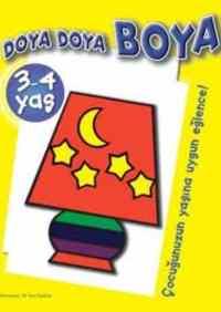 Doya Doya Boya 3-4 Yaş - 2. Kitap (Sarı)