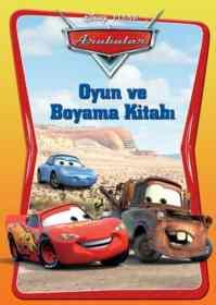 Arabalar Oyun Ve Boyama Kitabı
