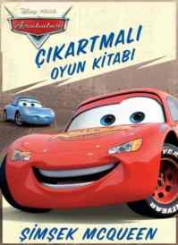 Arabalar Çıkartma Oyun Kitabı