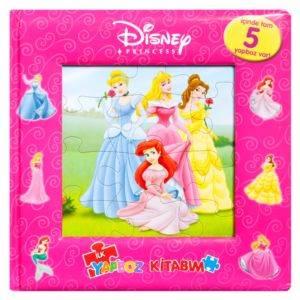 Disney Prenses - İlk Yapboz Kitabım