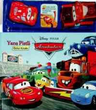 Arabalar Yarış Pistli Öykü Kitabı