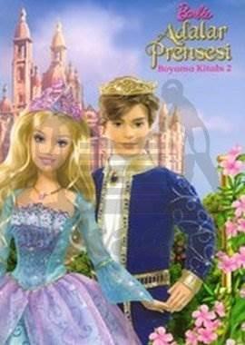 Barbıe Adalar Prenses Boyama Kitabı 2