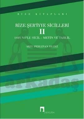 Rize Şer'iyye Sicilleri 2