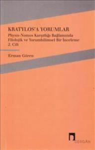 Kratylos'a Yorumlar Cilt-2