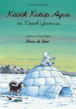 Küçük Kutup Ayısı ve Köpek Yavrusu (El Yazılı)