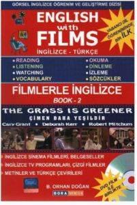 English With Films 2 - İngilizce Türkçe Kitap+DVD