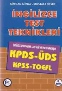 İngilizce Test Teknikleri KPDS, ÜDS, TOEFL