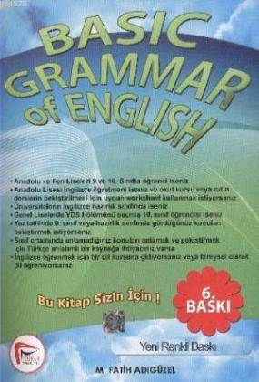 Basic Grammar Of English; Answer Key
