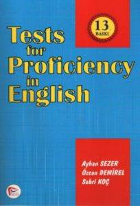 Tests For Proficencuy İn Engilis