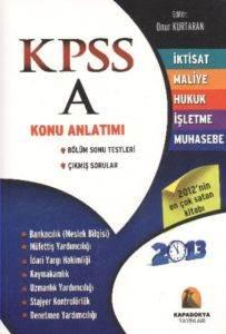 KPSS A Grubu Konu Anlatımlı 2013 İktisat-MUhasebe-Hukuk-İşletme-Muhasebe