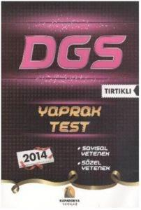 Kapadokya DGS Tırtıklı Yaprak Test 2014