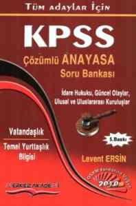 KPSS / Çözümlü Anayasa Soru Bankası