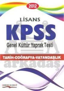 2012 KPSS / Genel Kültür Yaprak Testi