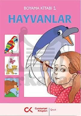 Boyama Kitabi / Hayvanlar