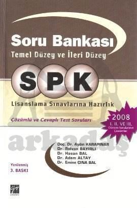 Spk Temel Düzey ve İleri Düzey